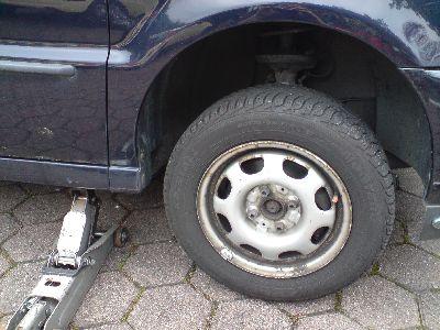 Skoda fabia bremsen hinten wechseln
